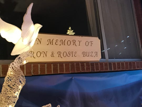 Mark and Paul Buza create Buza's Christmasland in memory of their parents, Ron and Rosie Buza.