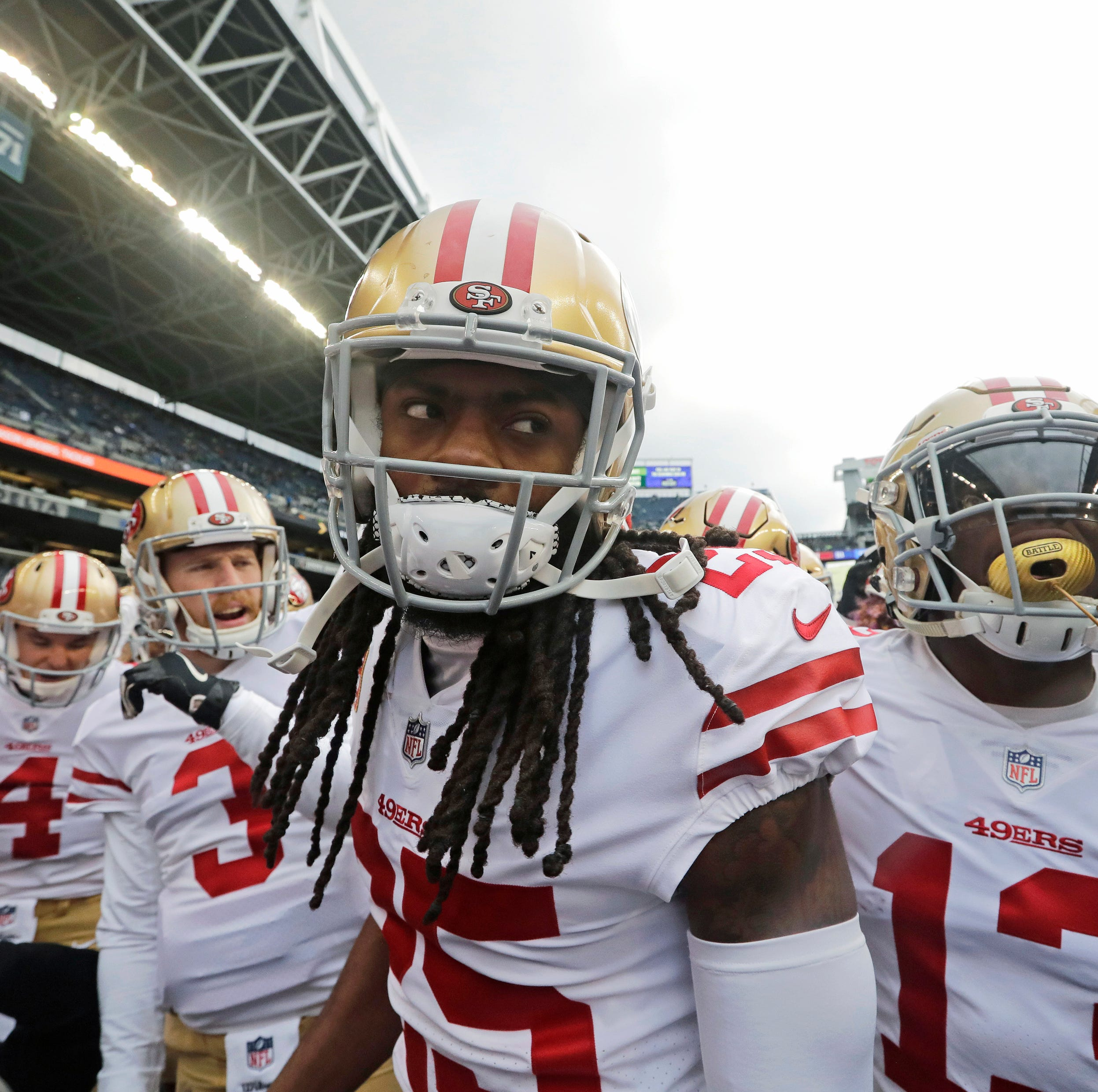 49ers' Sherman irks some former teammates