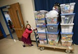 Second-grader ignites movement of giving at Olalla Elementary