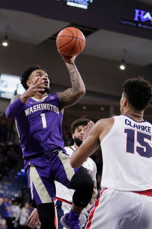 David Crisp and the Washington Huskies nearly scored a signature win last week against Gonzaga. They get another shot on Saturday, when the Huskies face No. 13 Virginia Tech in Atlantic City.