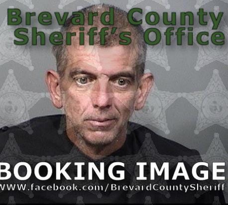 Shawn Burgess, 46, of Satellite Beach was arrested on aggravated assault and drug charges.