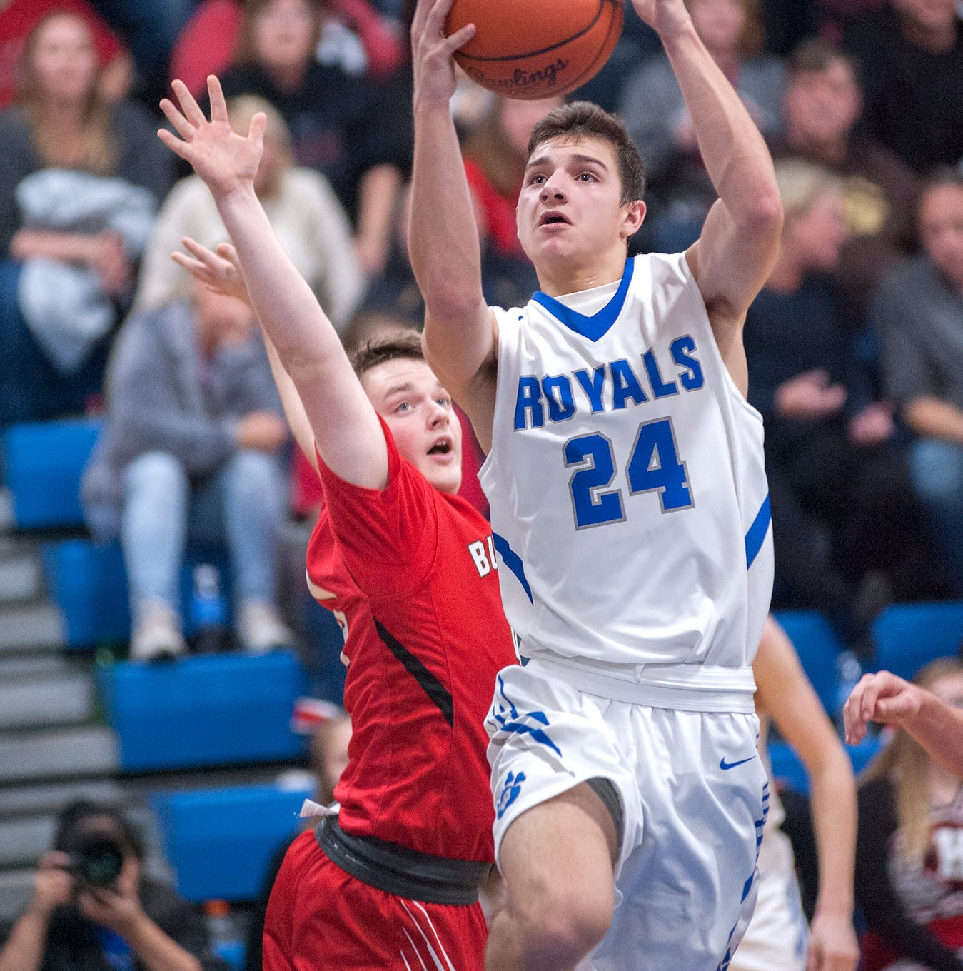 Crall's career night gives Royals first win of the season