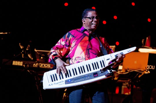 Jazz legend Herbie Hancock performs at the Flynn Center on Feb. 6.