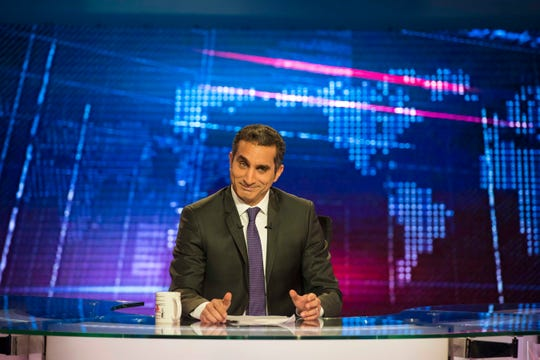 Egyptian comedian Bassem Youssef will be at the Flynn Center on Jan. 25.