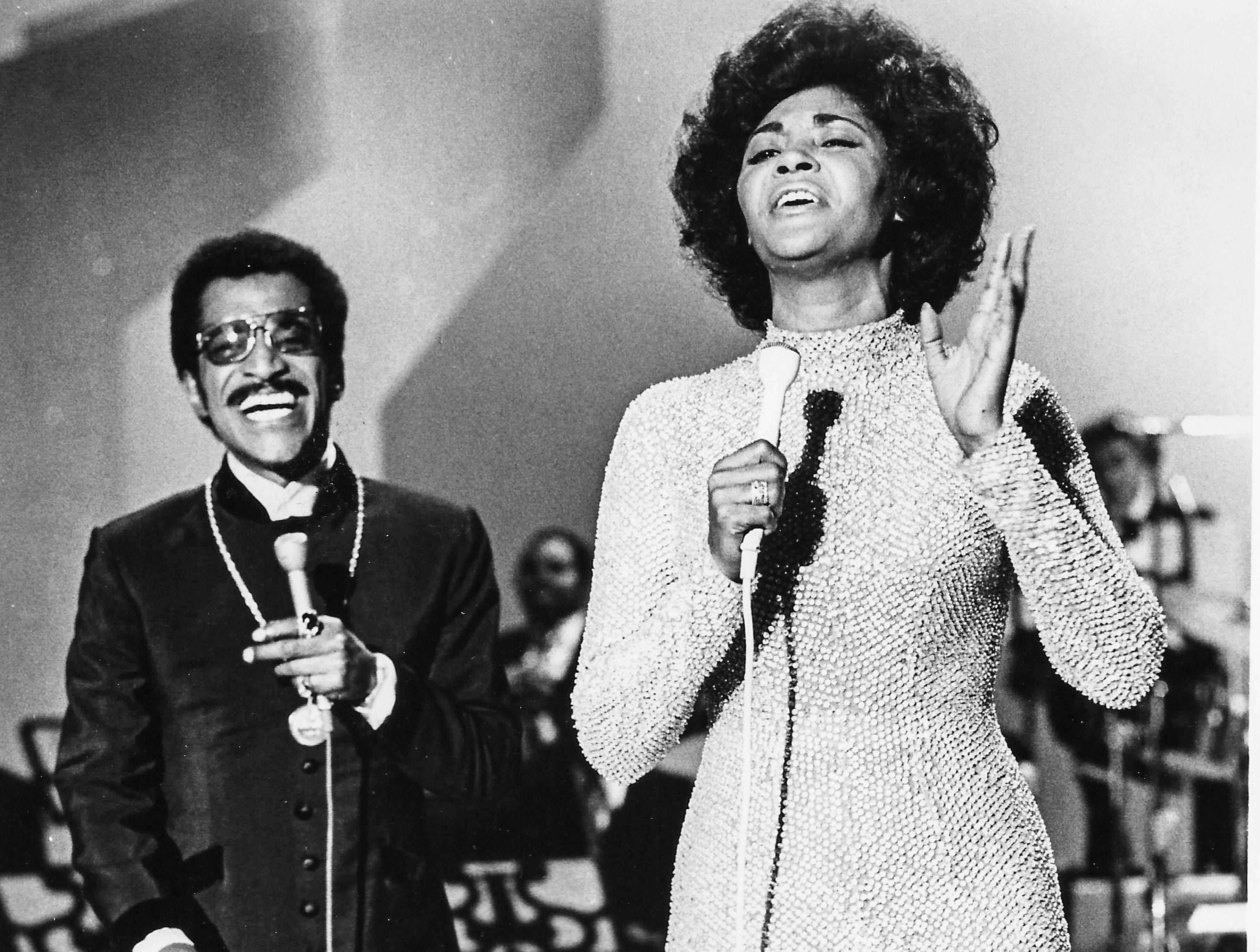 "Sammy Davis, Jr. is Nancy Wilson's guest in her first television special ""Monsanto Night Presents Nancy Wilson,"" which aired on Sunday, March 26, 1972, on WBNS 10 TV. Miss Wilson's other guests included three-time Academy Award winner Henry Mancini, singer and talk show host Mike Douglas, and the Staple Singers, who performed their big hit ""Respect Yourself."""