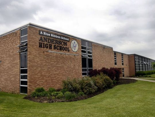 Work renovating Anderson High School has led to a lawsuit.