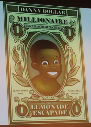 """Danny Dollar Academy is inspired by the book, """"Danny Dollar Millionaire Extraordinaire"""" written by Ty Jackson."""