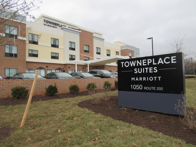 TownePlace Suites by Mariott has open on southbound Route 202 in Branchburg.