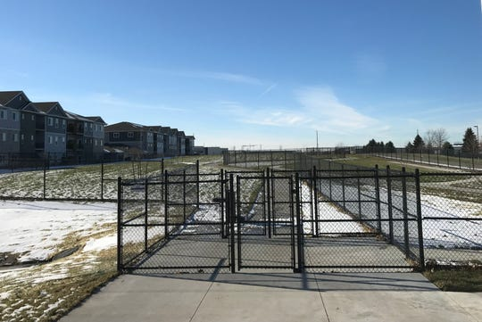 The four-acre Trailside Dog Park is located at 590 SE Brick Drive