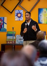 Kameron Middlebrooks, 30, is working to improve the economic stability of black Iowans. He's also the next president of the Des Moines NAACP branch.