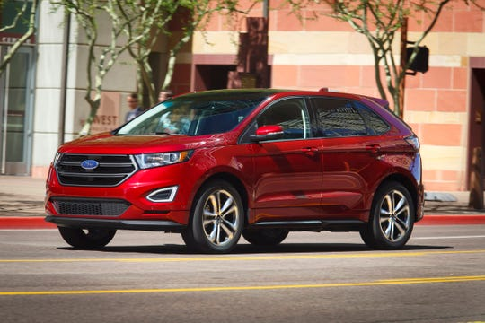 The Ford Edge is the used SUV most likely to sell for at least 5 percent below market value, according to iseecars.com