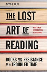 """The Lost Art of Reading"""