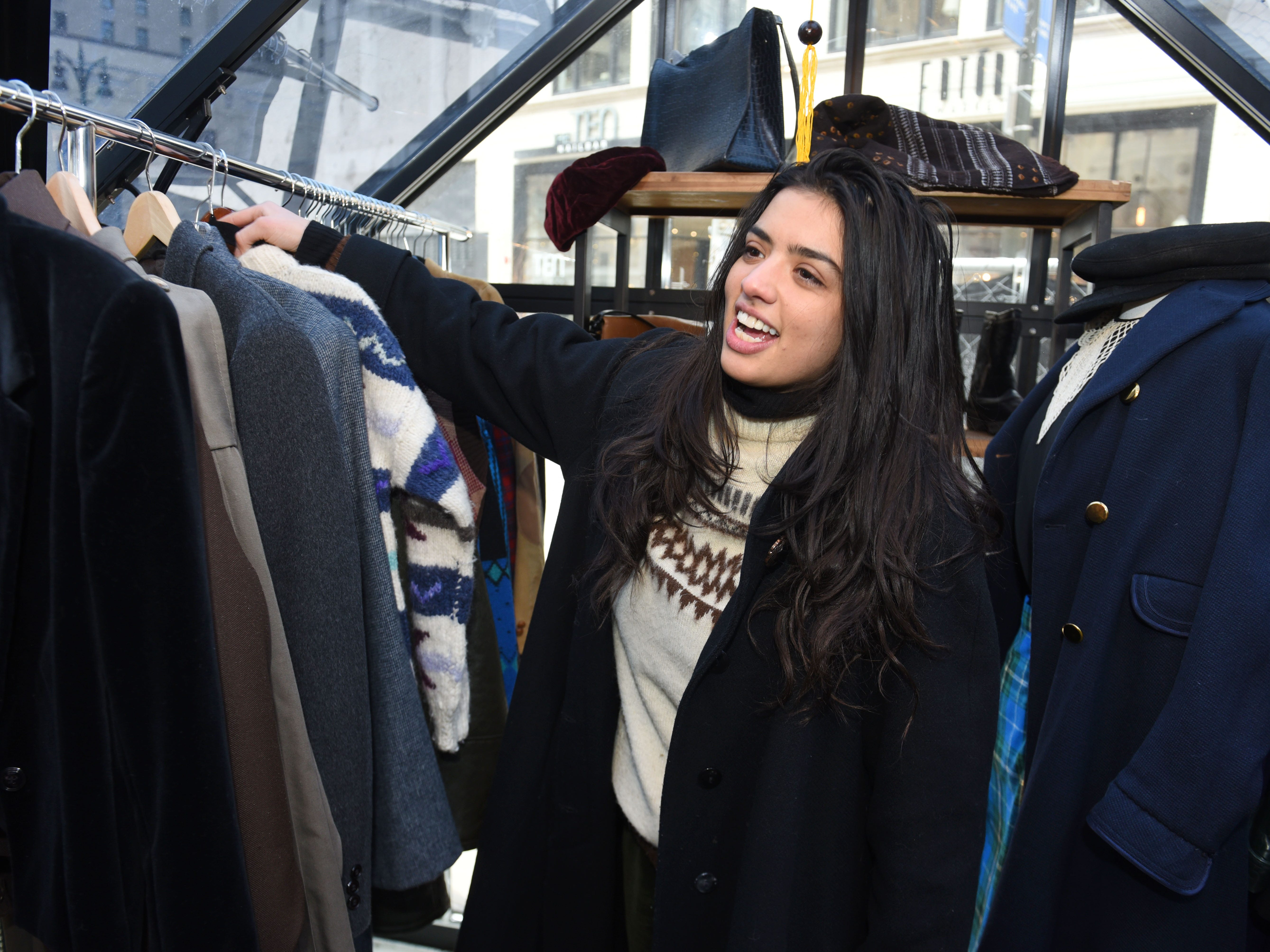 Emily Bernstein, owner of The Velvet Tower, a pop-up store in Capitol Park in downtown Detroit,  will soon move into a new space in the Shinola Hotel.