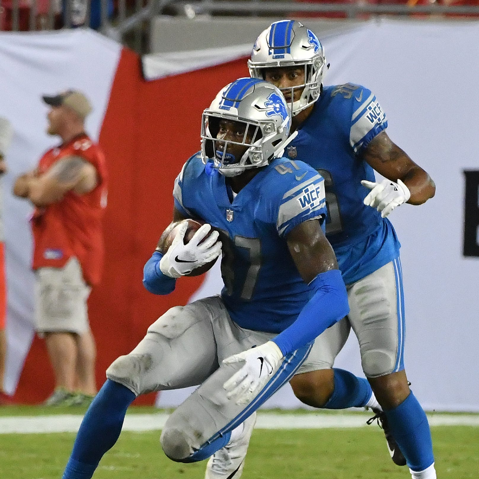 Rookie safety Walker making Lions gamble look good