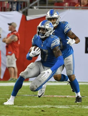 Tracy Walker's snap counts are building up as the Lions (5-8) head to the season's finish line.