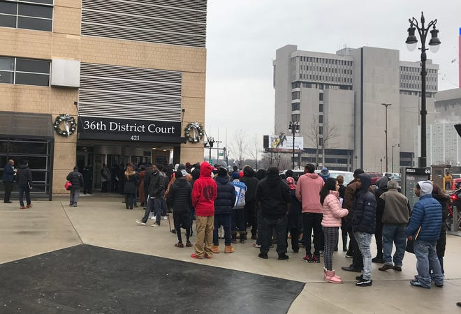 Multiple bomb threats forced the removal of people from Detroit buildings Friday, Dec. 14 including those from 36th District Court.
