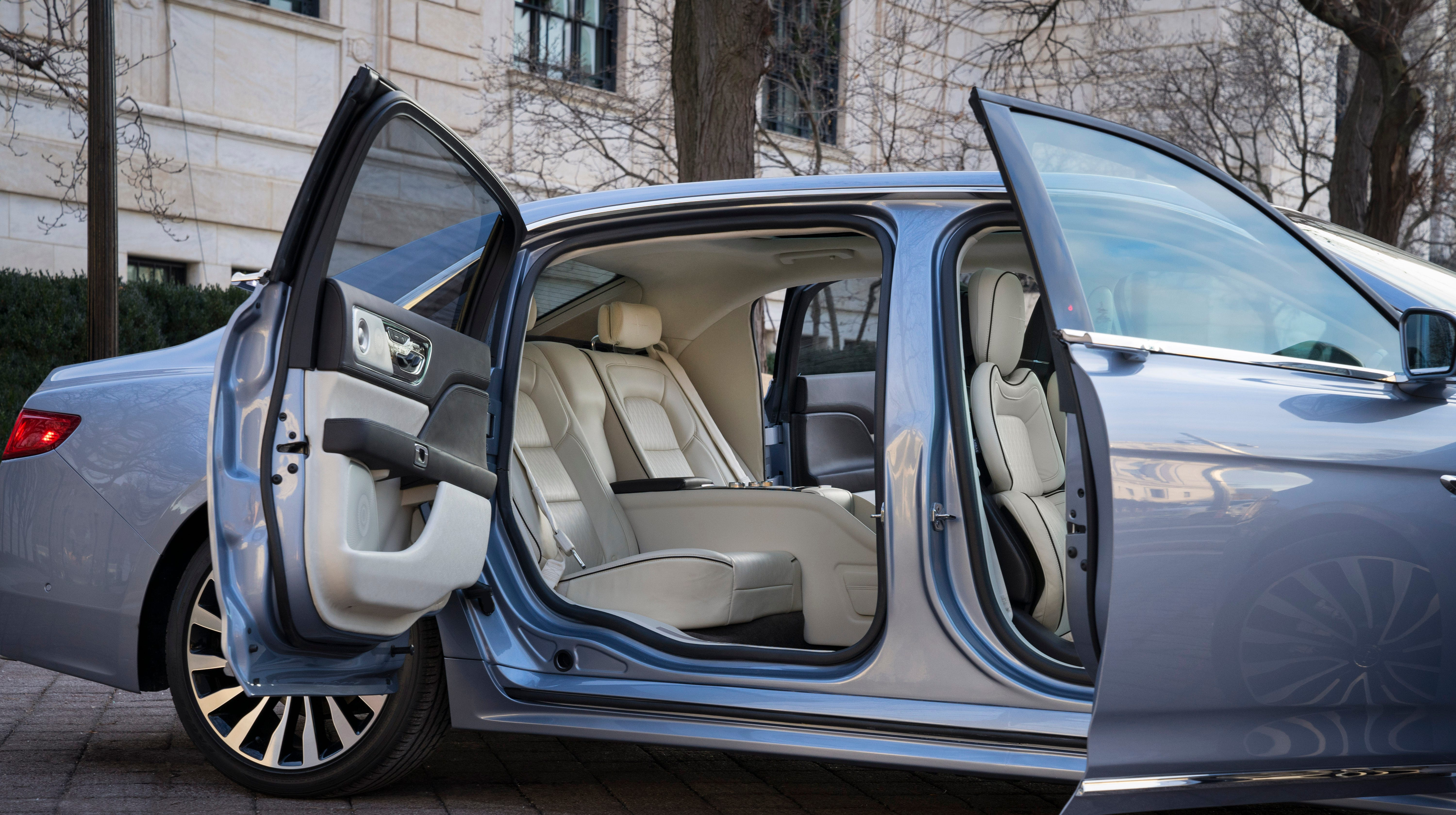 More Exclusive Than A Ford Gt A Lincoln Continental With Suicide Doors