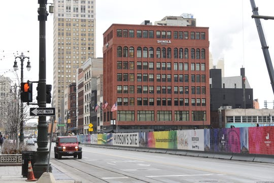 The new Shinola Hotel is a venture between the Detroit-based watch and leather goods manufacturer and Quicken Loans founder Dan Gilbert's real-estate firm, Bedrock.