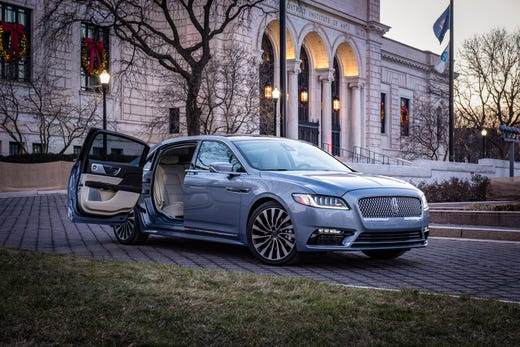 Lincoln Continental Reintroduces Suicide Doors