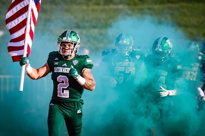 Blake Banham has gone from walk-on to captain at Eastern Michigan.