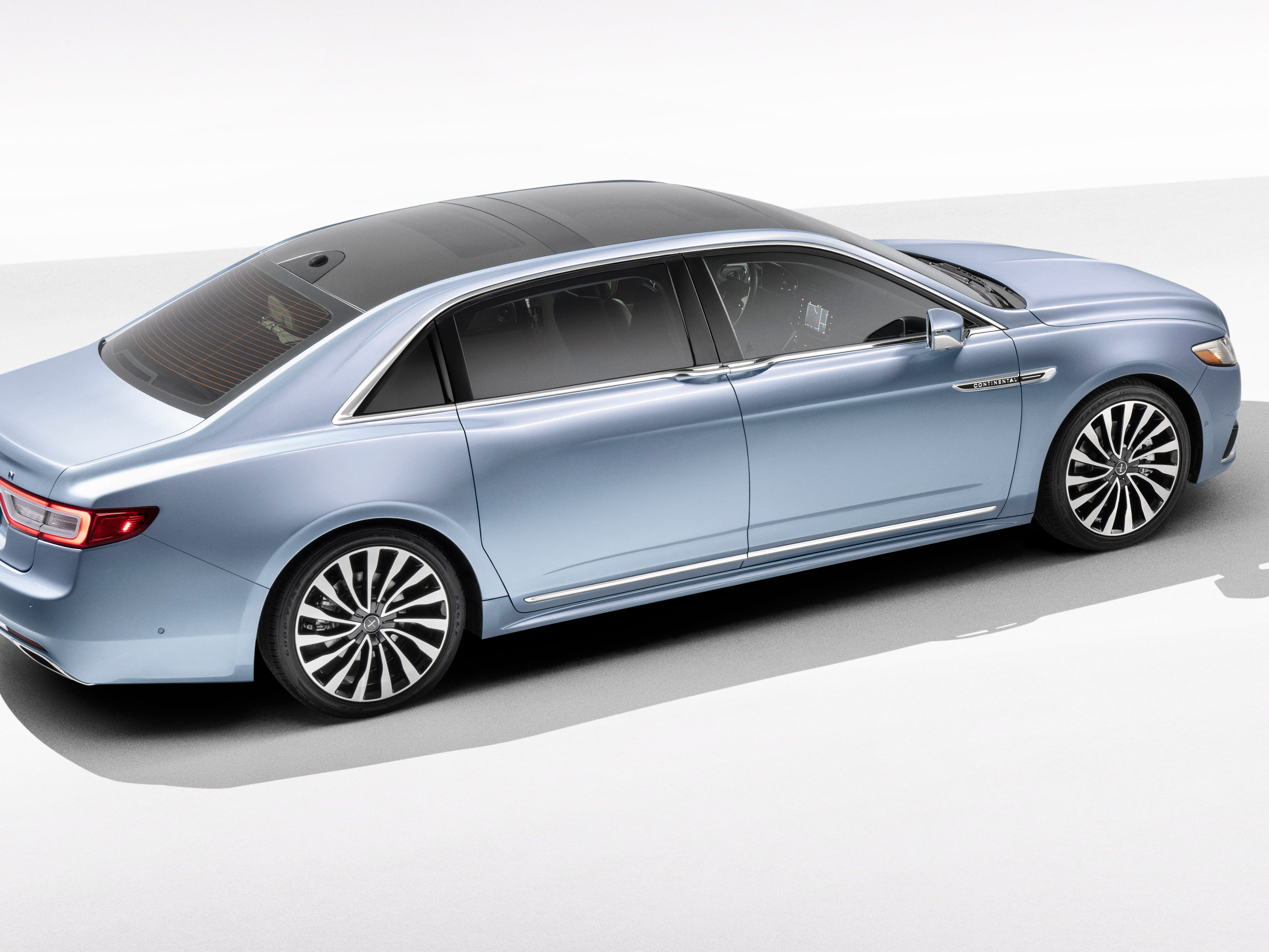 The Lincoln Continental Coach Door Edition will retail for slightly more than $100,000 when it goes on sale in the summer of 2019.
