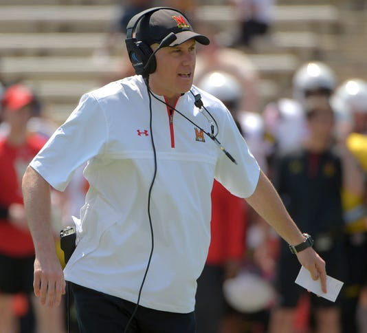 Report Former Maryland Coach Dj Durkin Working At Alabama In Consultant Like Capacity