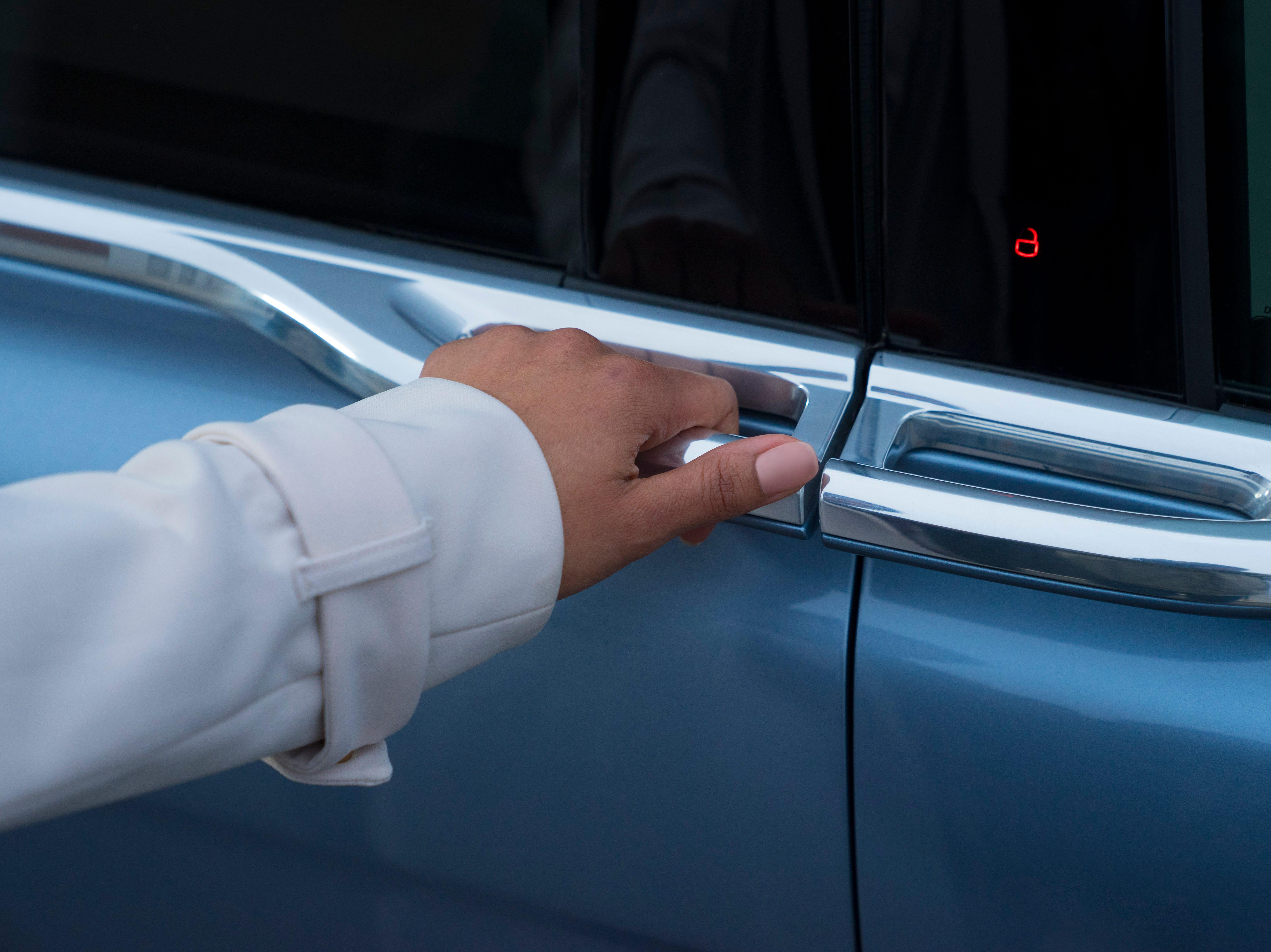 """""""We've always idealized the Continental to have center-opening doors,"""" said Lincoln design director David Woodhouse."""