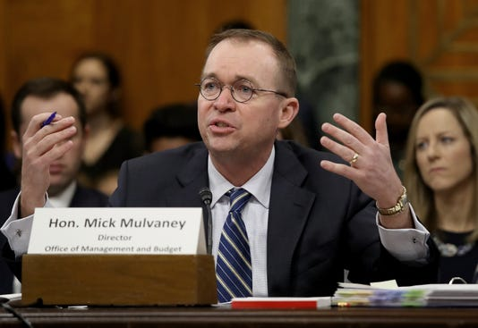 Office Of Management And Budget Director Mick Mulvaney Testifies To Senate Committee On Trump S Fy2019 Budget