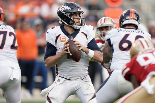 Nfl Denver Broncos At San Francisco 49ers