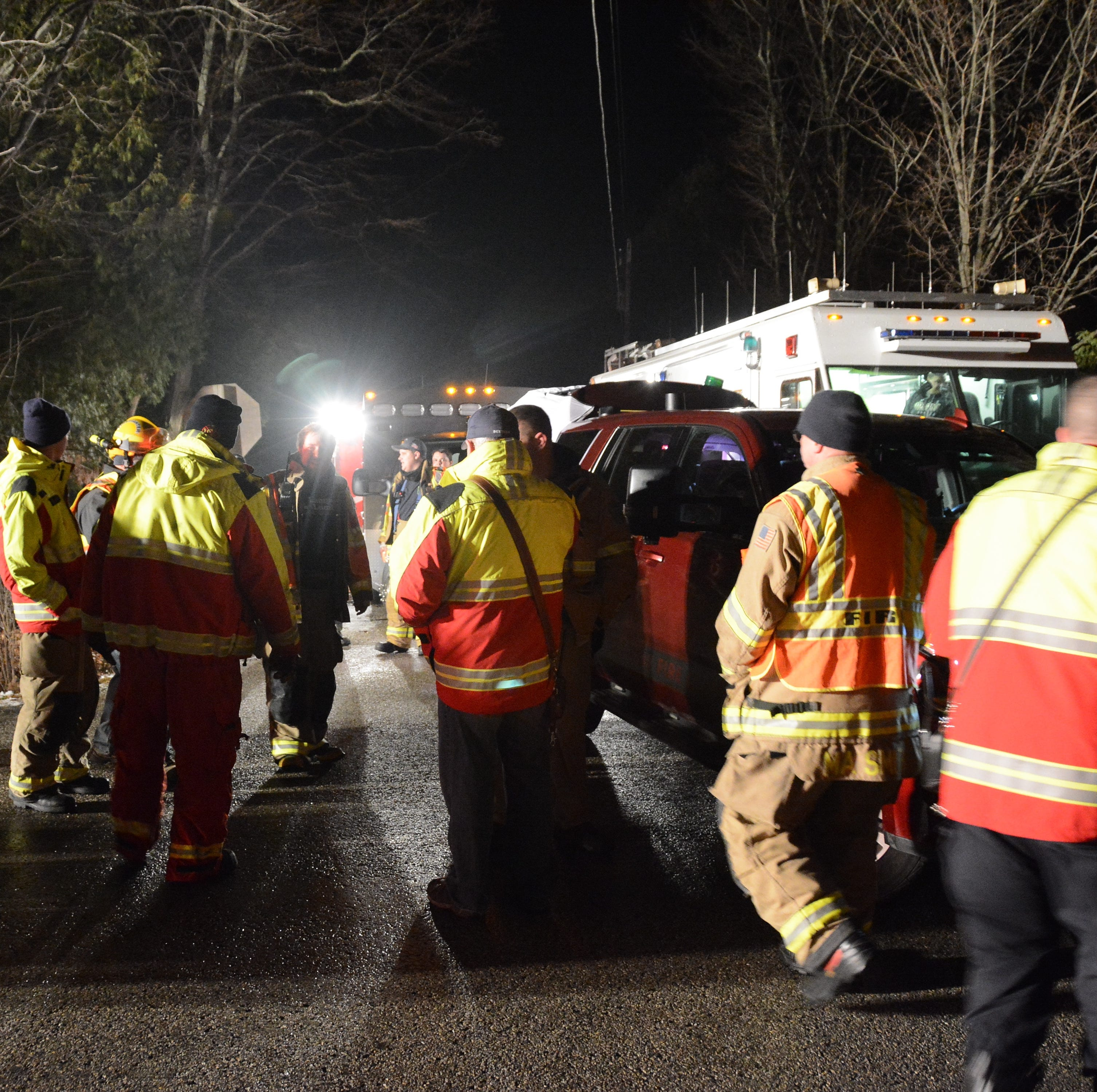 Missing Baileys Harbor man found uninjured in forest after 3-hour search