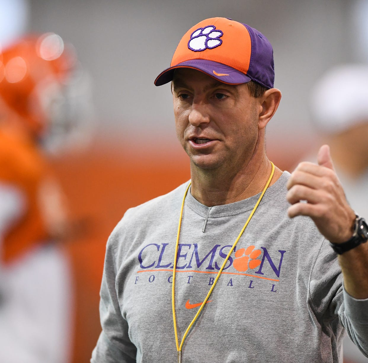 Clemson's Dabo Swinney swims upstream on College Football Playoff expansion