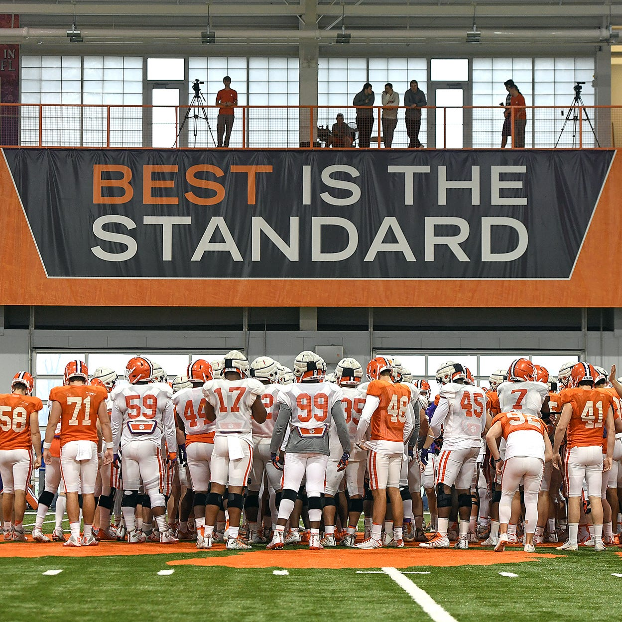 Clemson football team earns high academic honor