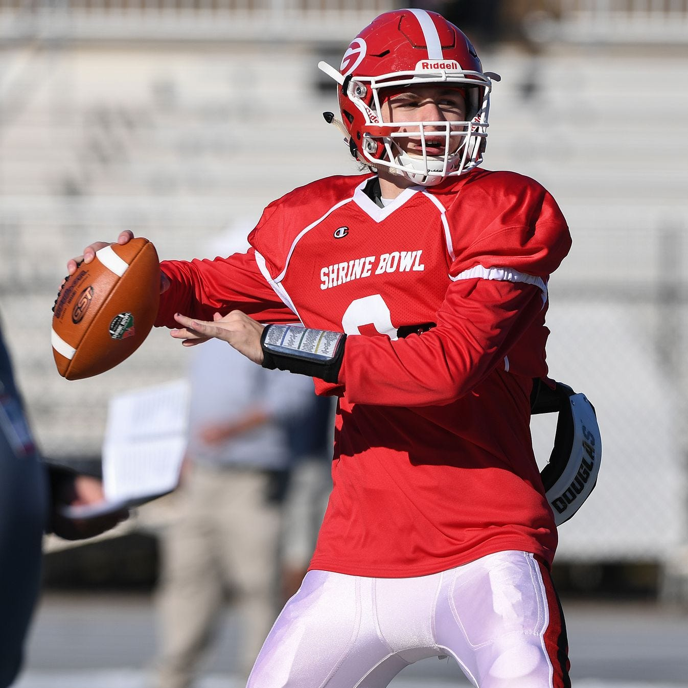 Greenville High quarterback Davis Beville has passed for 4,565 yards with 62 touchdowns over the past two seasons.