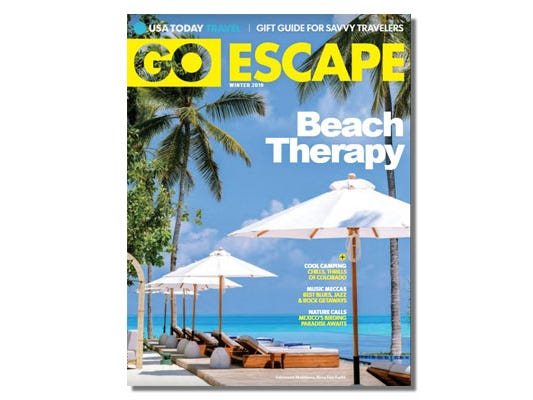 Beach therapy perfect for the winter blues. Read this premium publication online for free.