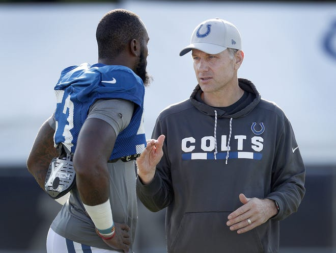 A longtime defensive coordinator at Missouri, Eberflus landed with the Colts after first being hired by Josh McDaniels back in January.