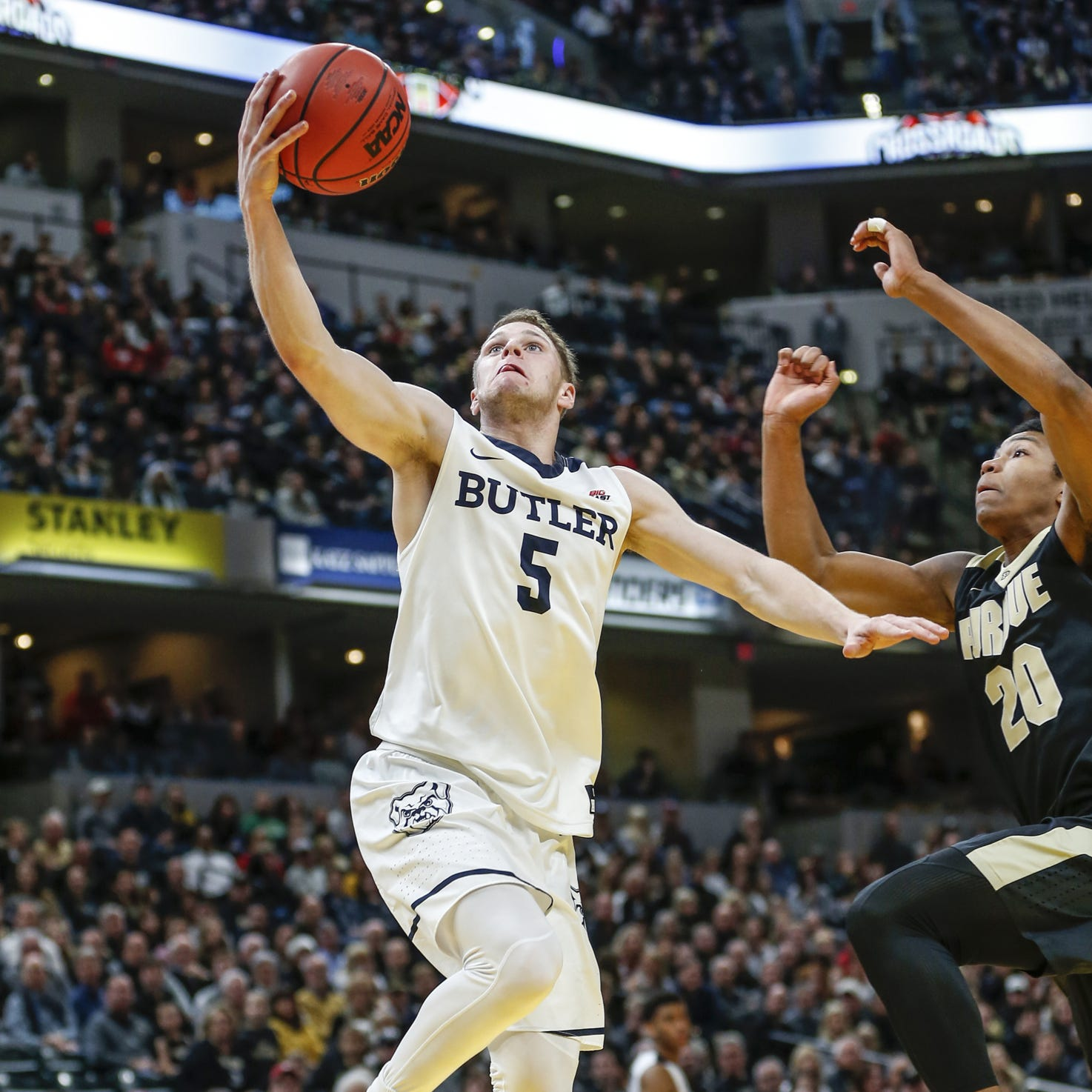 On downtown Indy stage, Butler is Indiana's college basketball headliner