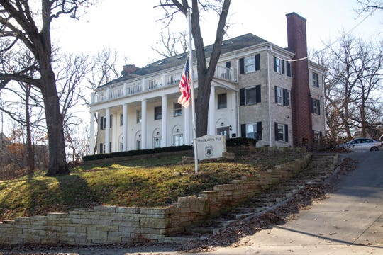 Phi Kappa Psi fraternity is seen on Friday, Dec. 14, 2018, at  363 North Riverside Drive in Iowa City.
