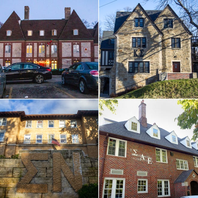Delta Chi, Kappa Sigma, Sigma Nu and Sigma Alpha Epsilon fraternities lost their official status at the University of Iowa on Thursday, Dec. 13, 2018.