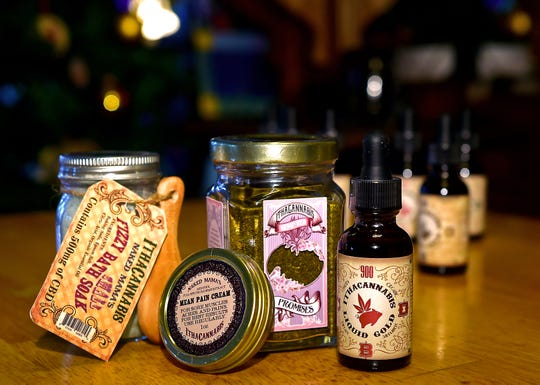IthaCannabis produces a wide variety of CBD products, including oils, bath products and topical creams.