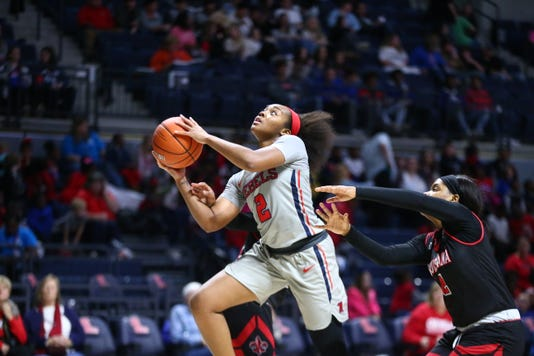Mimi Reid Ole Miss Women's Basketball