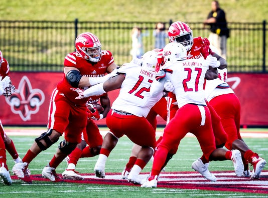 In The Football Game Between Ull And South Alabama At Cajun Field In Lafayette Louisiana On November 17 2018