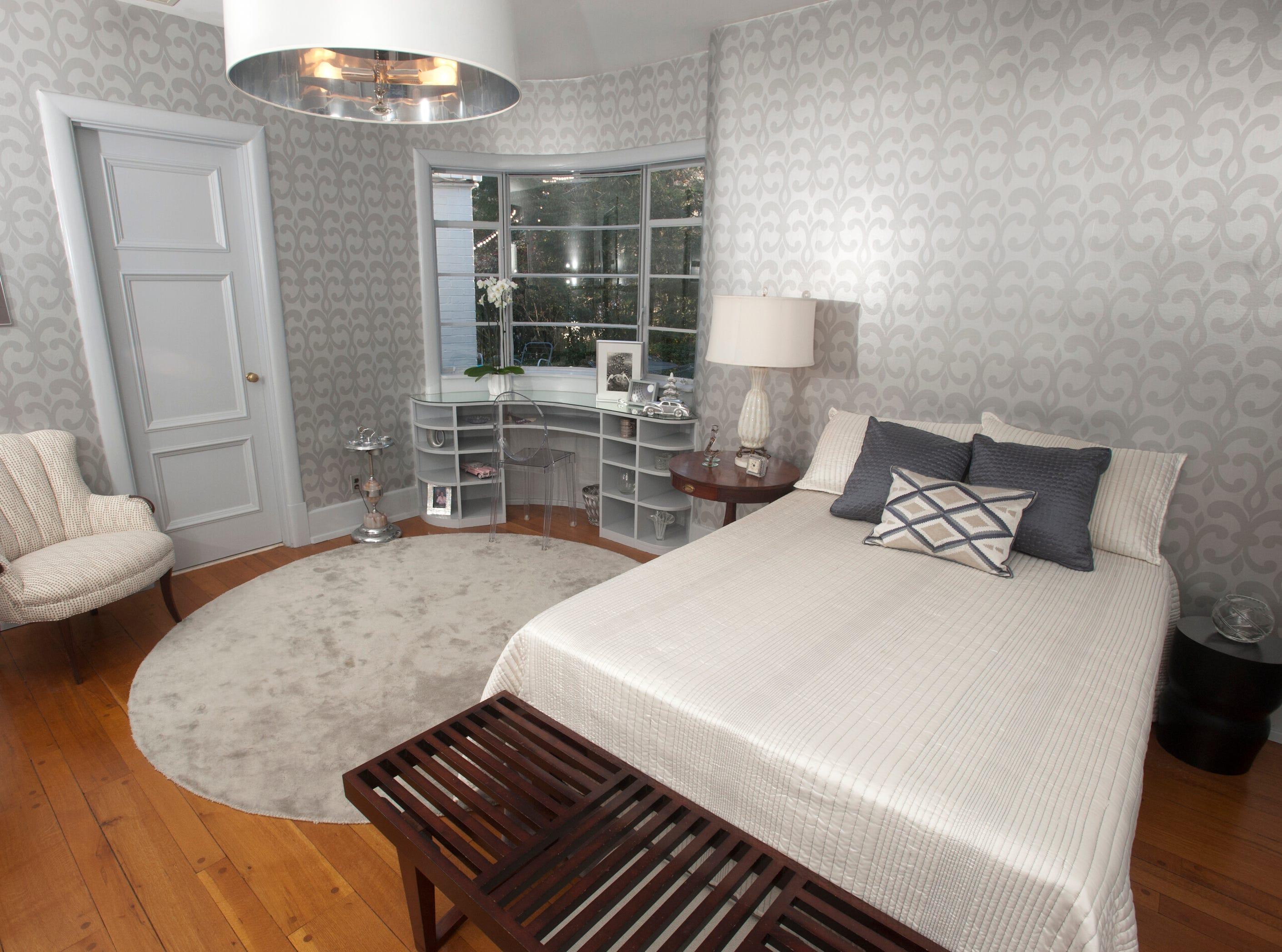 The home's 1st floor guest bedroom.10 December 2018