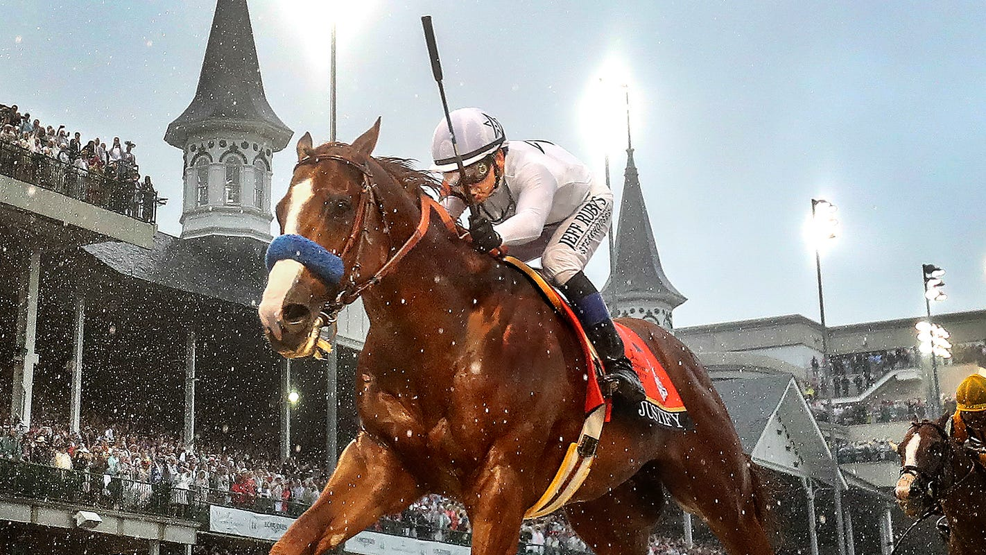 Triple Crown winner Justify reportedly failed a drug test weeks before the Kentucky Derby
