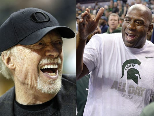 Phil Knight, Magic Johnson