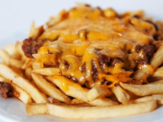 Chili cheese fries from Lee Lee's Coney & Grill