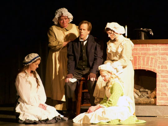 Manitowoc production of 'A Christmas Carol.'