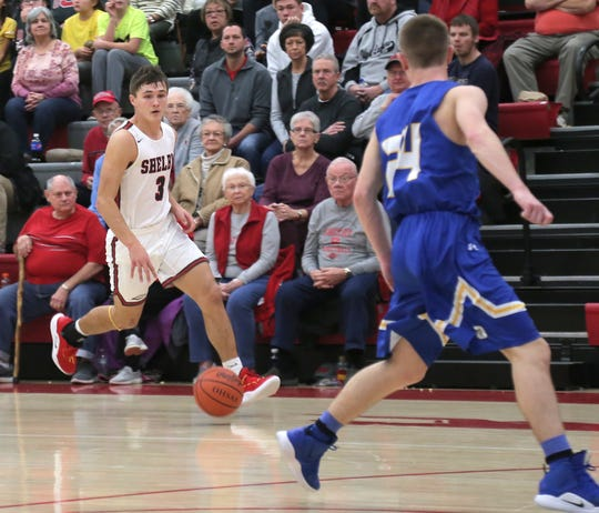 Shelby's Uriah Schwemley leads the Whippets to a 6 p.m. showdown with Mansfield Senior on Saturday at Ontario High School in the 419 Challenge.
