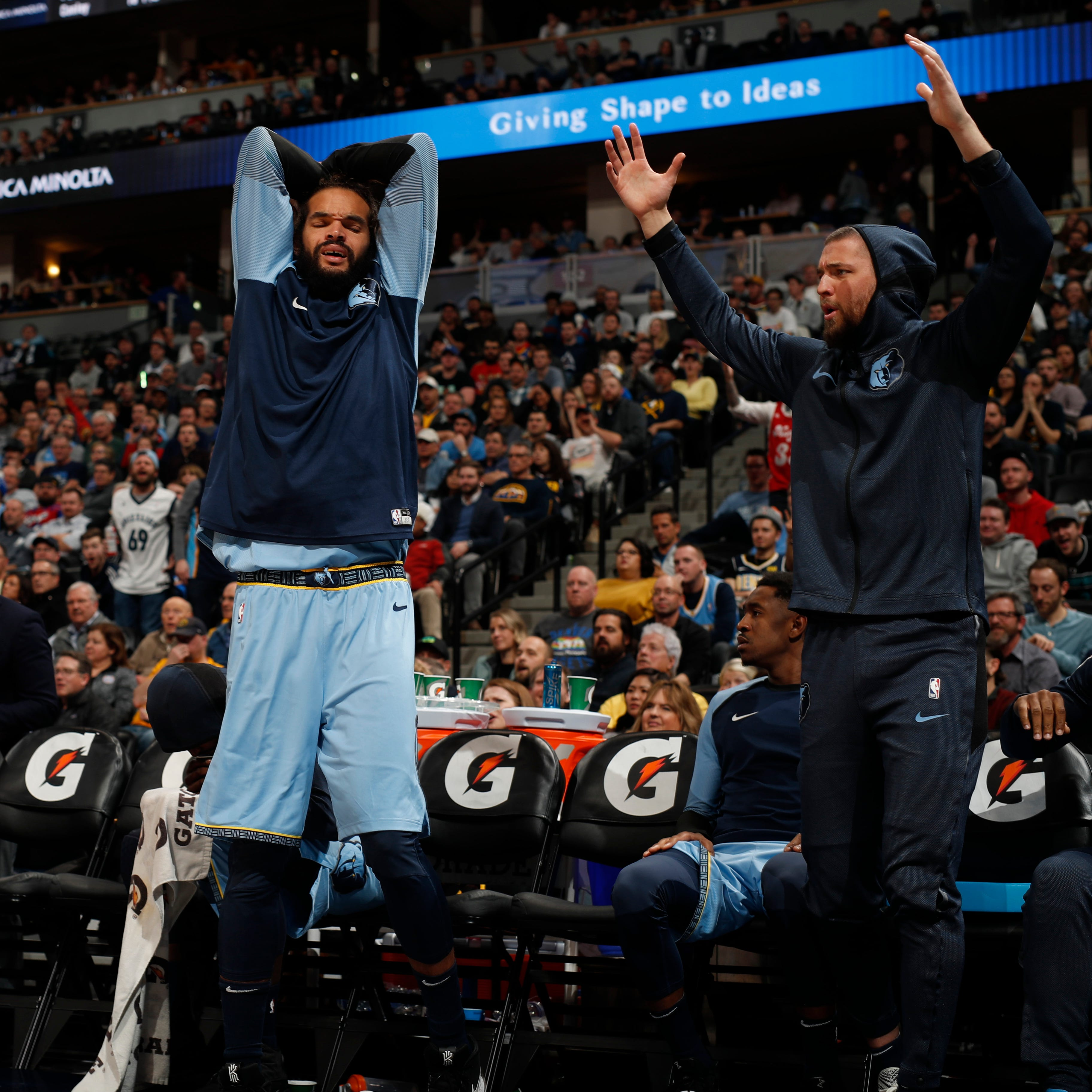 Why Chandler Parsons sold Joakim Noah on playing for the Memphis Grizzlies