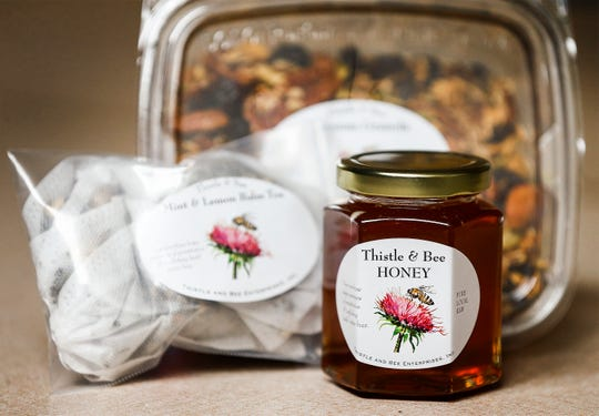 Thistle & Bee is a non-profit helping victims of human trafficking and sexual abuse get back on their feet through their honey and granola business.