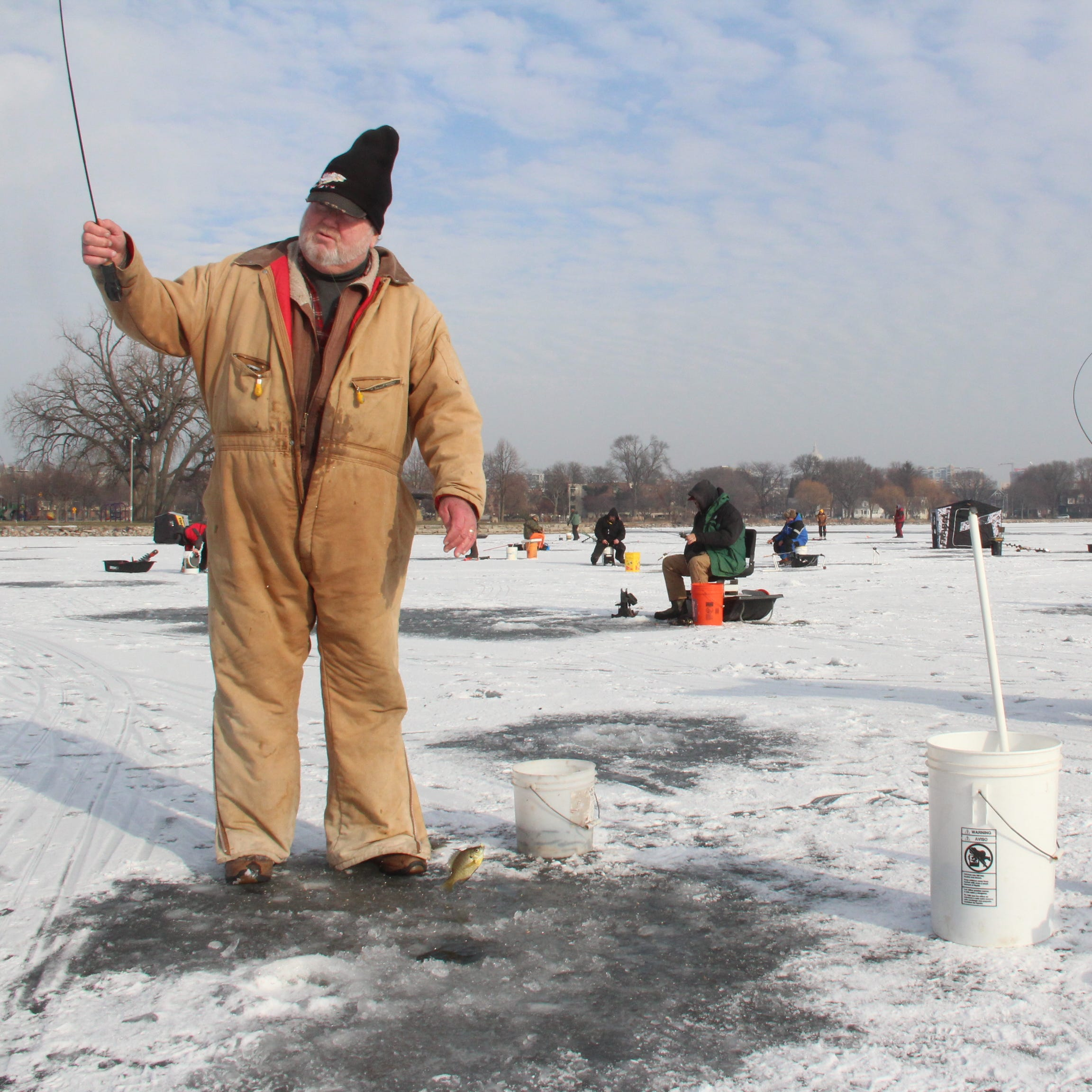 Smith: Early ice panfish action provides a capital delight